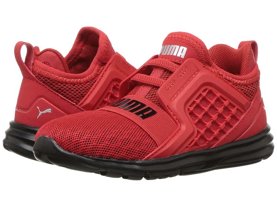 Puma Kids Limitless AC Wide (Toddler) (High Risk Red) Boys Shoes