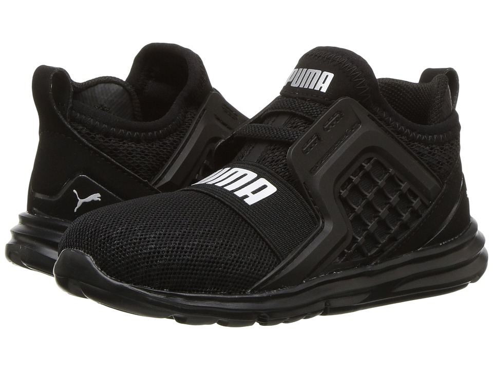 Puma Kids Limitless AC Wide (Toddler) (PUMA Black) Boys Shoes