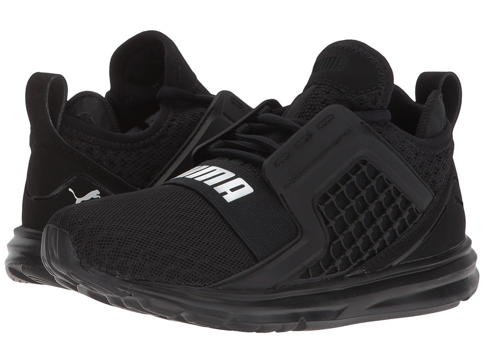 Puma Kids Limitless (Little Kid) (PUMA Black) Boys Shoes