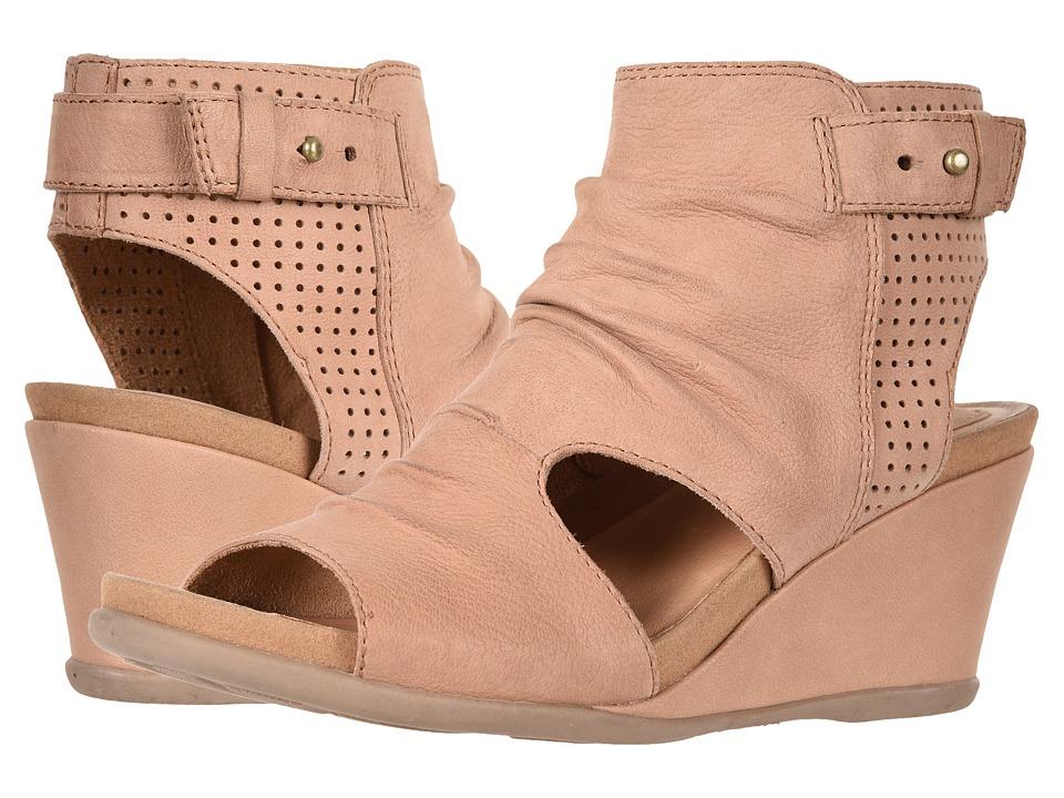 Earth Sweetpea (Blush Tumbled Leather) Women's Shoes