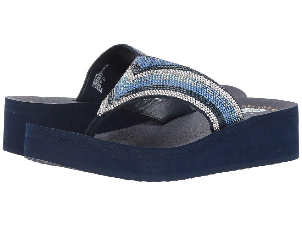 Yellow Box Giana (Blue Multi) Women