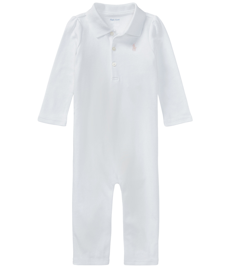 Ralph Lauren Baby - Cotton Coverall