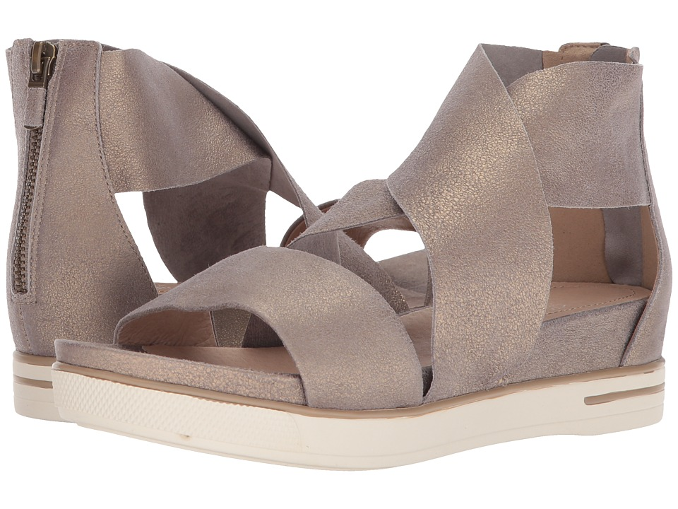 Eileen Fisher - Sport (Platinum Metallic Suede) Womens Sandals