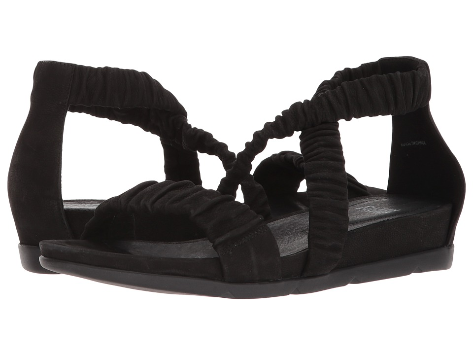 Eileen Fisher - Dylan (Black Tumbled Nubuck) Women's Sandals
