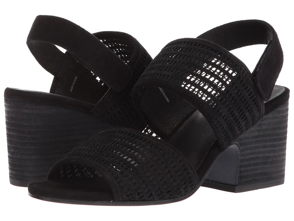 Eileen Fisher - Finn (Black Mesh Suede) Women's Sandals
