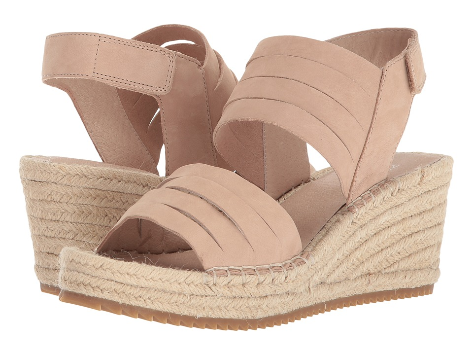 Eileen Fisher Largo (Latte Tumbled Nubuck) Wedges