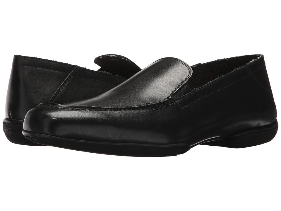 Right Bank Shoe Cotm - Vix Loafer (Black) Mens Slip on  Shoes