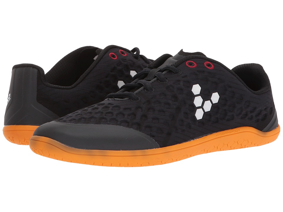 Vivobarefoot Stealth II (Black/Orange) Women's Shoes
