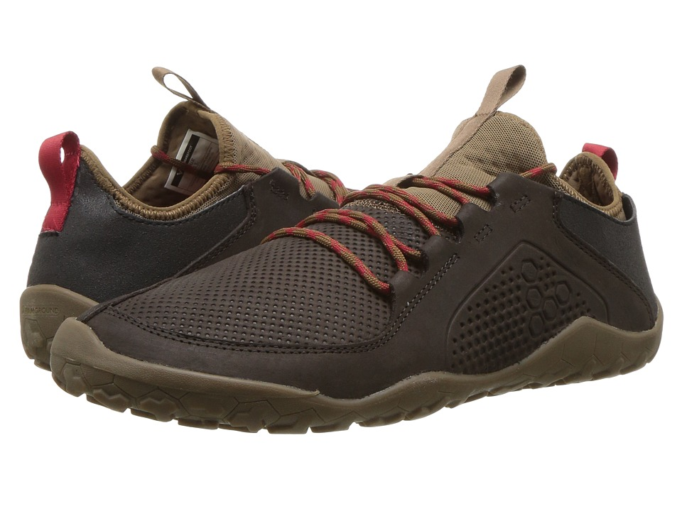 Vivobarefoot Primus Trek Leather (Dark Brown) Women's Shoes