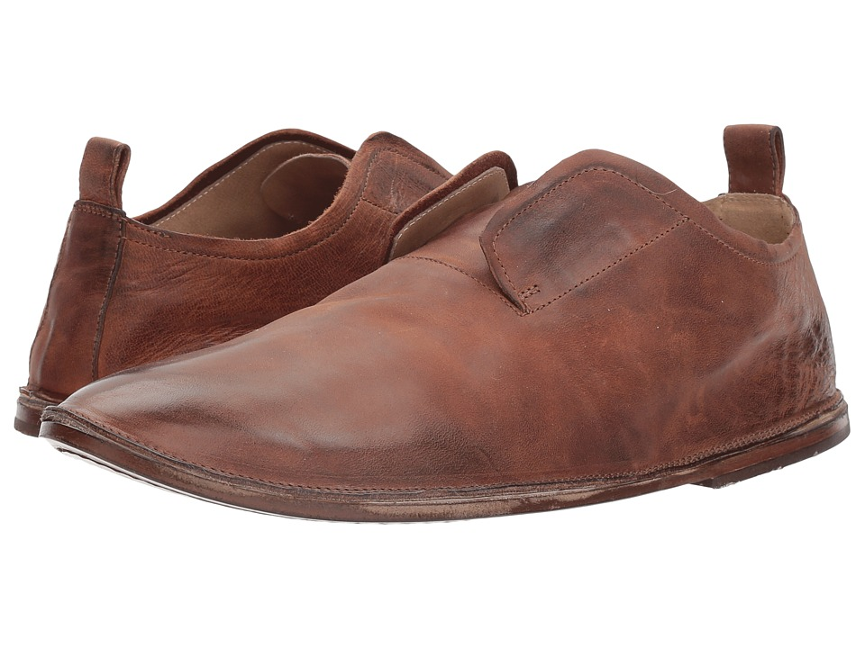 Marsell - Pull-On Plain Toe Loafer (Brown) Mens Shoes