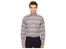 Eton Contemporary Fit Madras Plaid Shirt