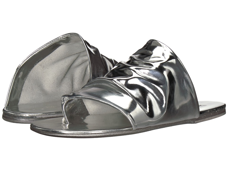 Marsell - Rouched Sandal (Silver Mirror) Women's Sandals