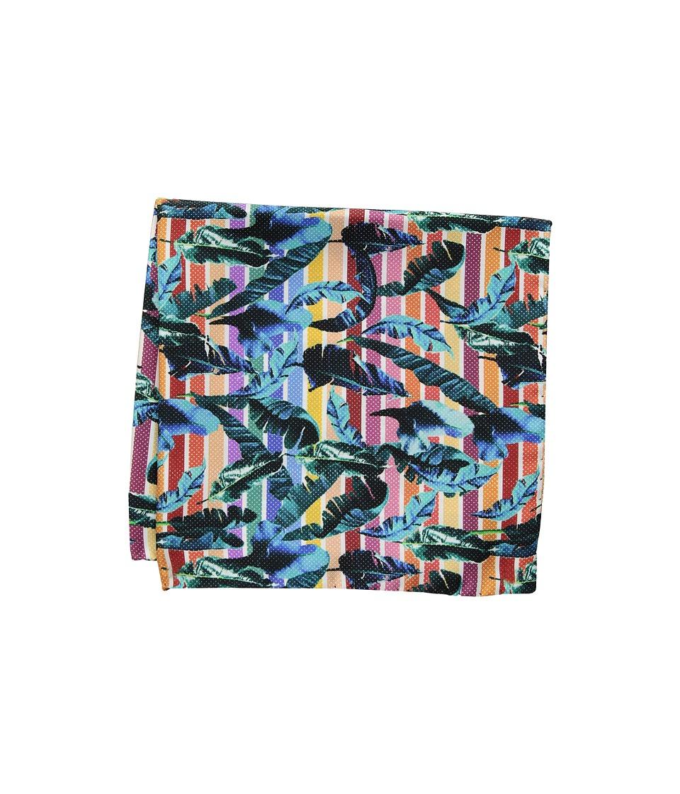 Eton - Palm Pocket Square (Multi) Ties