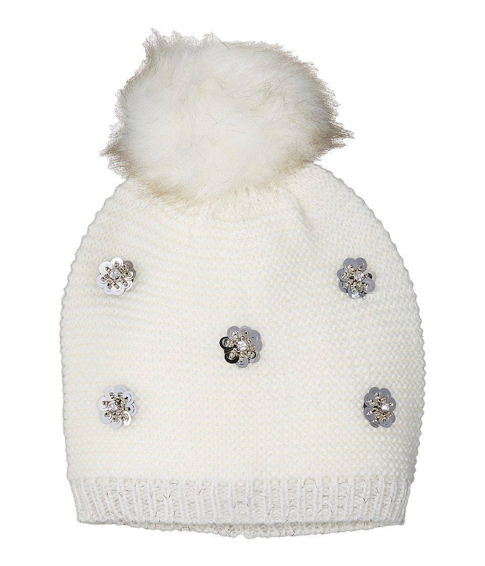 Collection XIIX - Dotty Floral Beanie