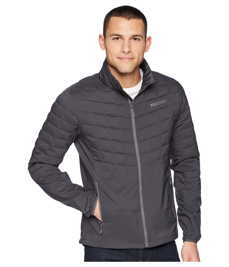 Marmot - Featherless Hybrid Jacket (Slate Grey) Mens Coat