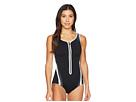 Speedo Plunge Zip Contour Swimsuit