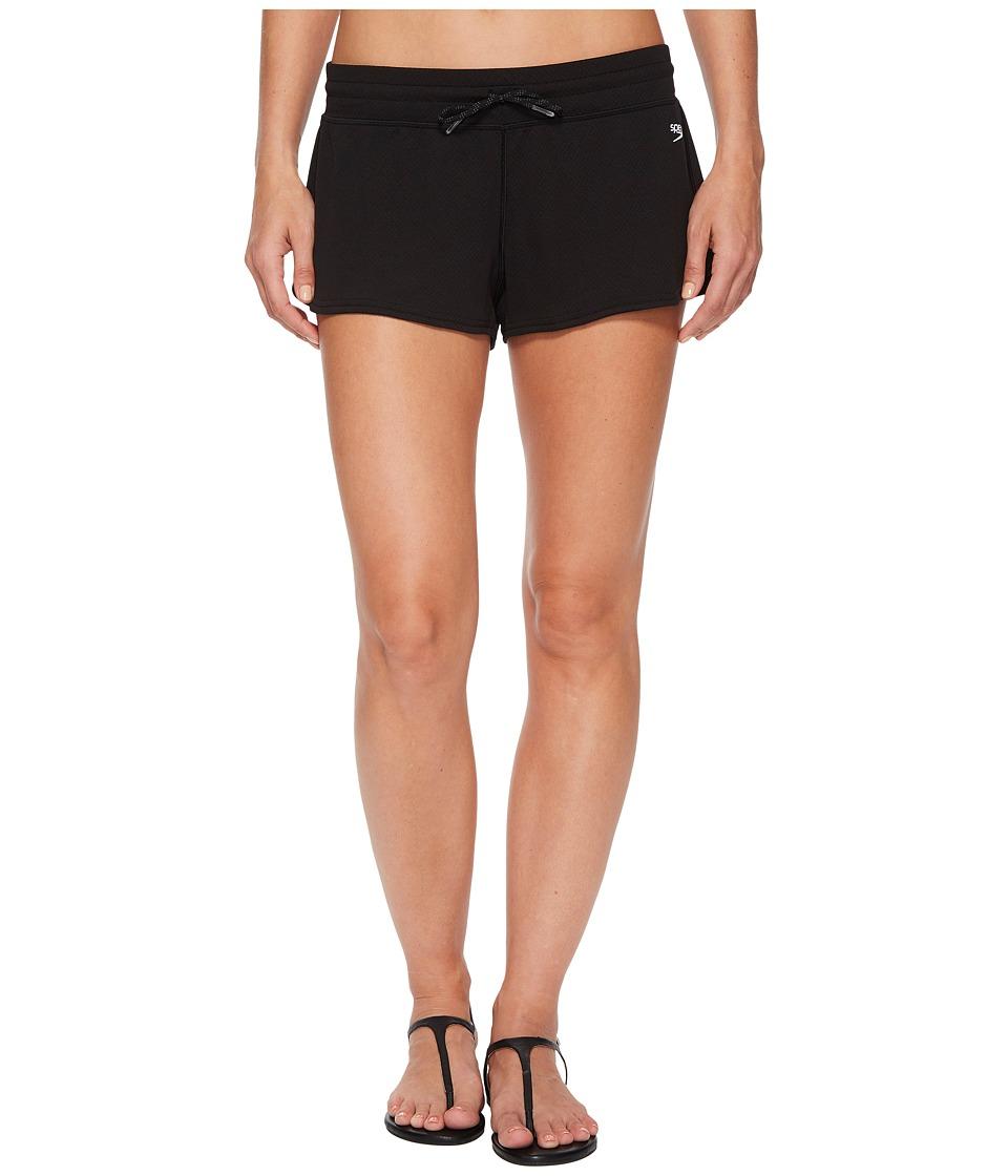 Speedo Cover-Up Shorts (Speedo Black)