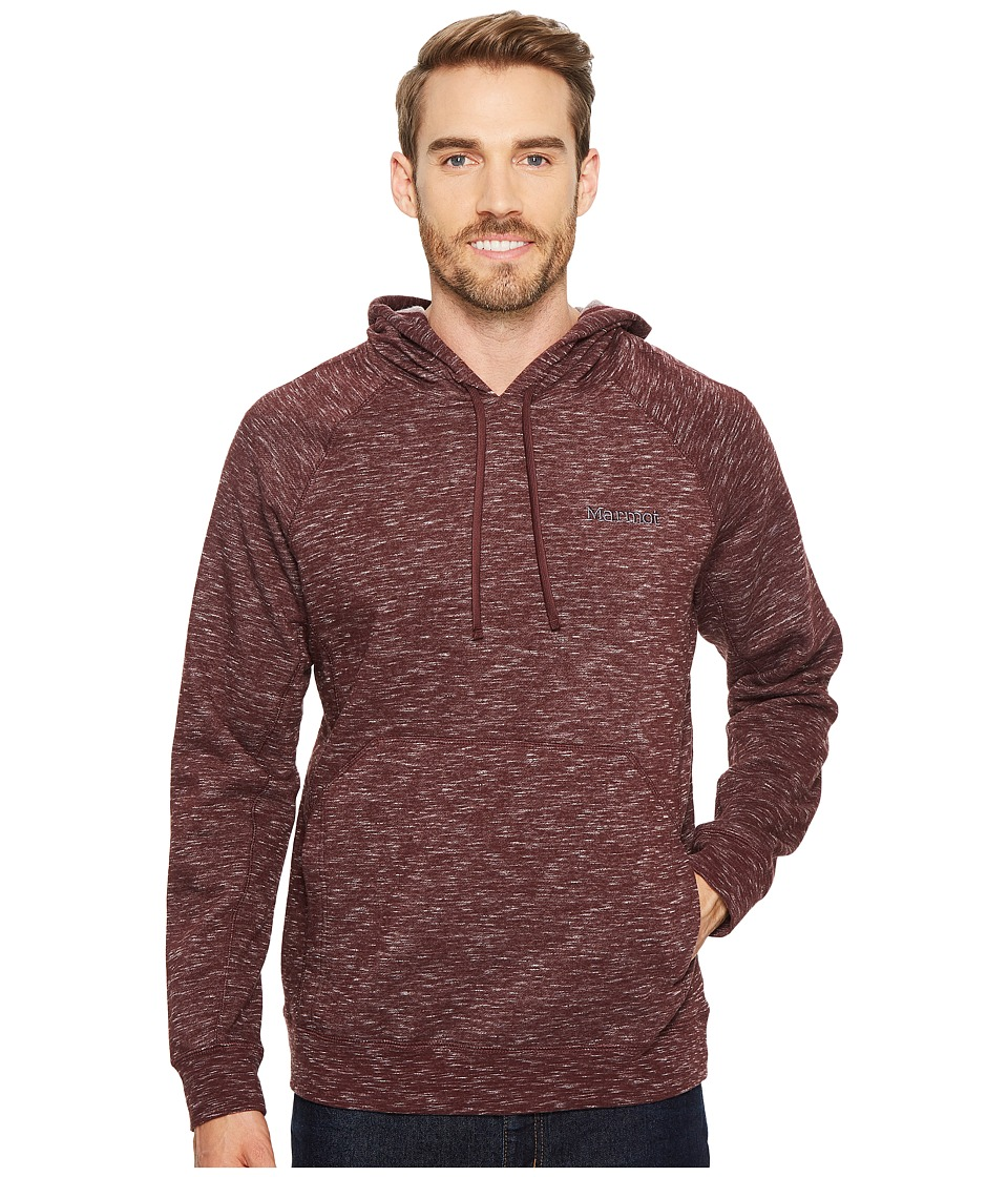 Marmot - Kryptor Hoodie (Burgundy) Mens Sweatshirt