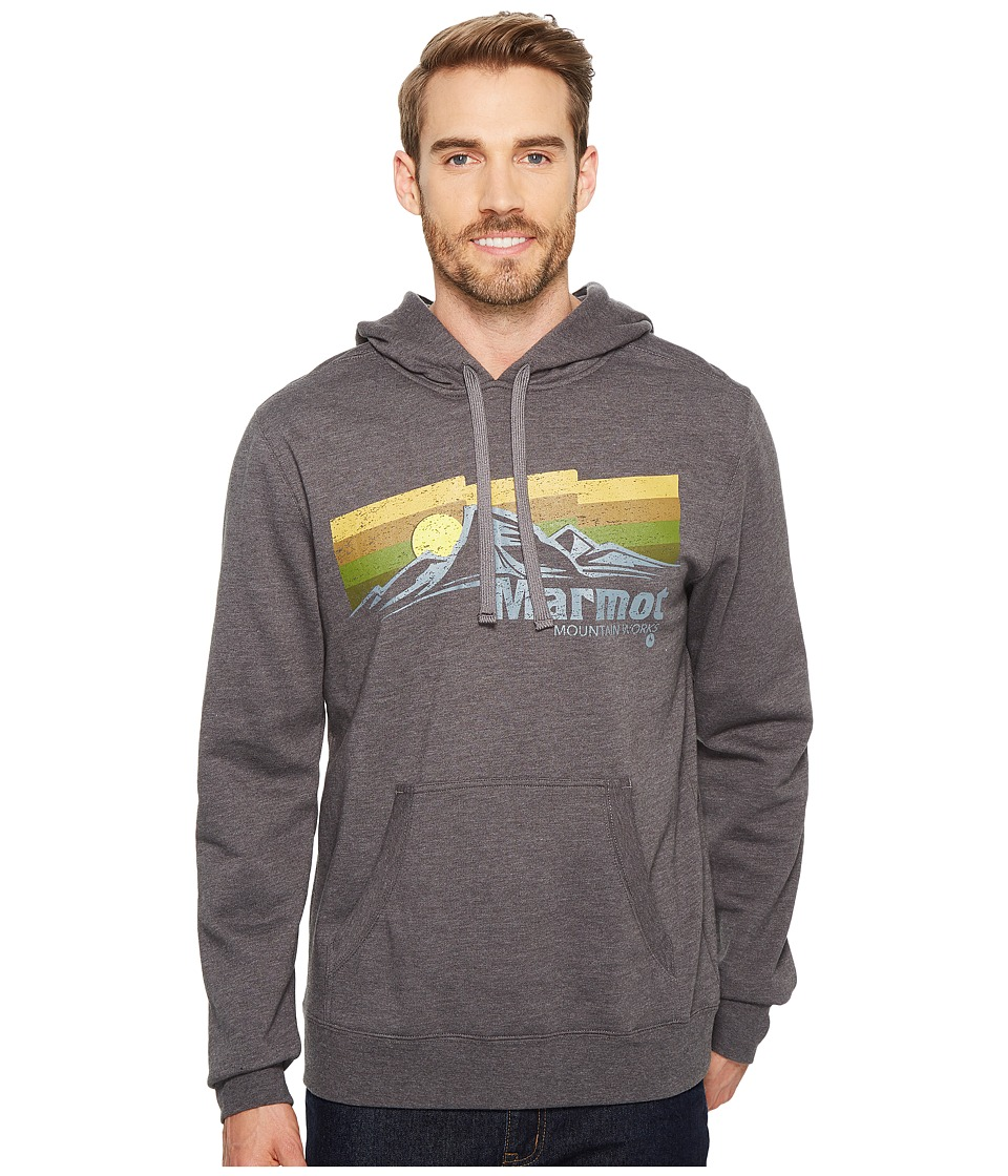Marmot - Sunsetter Hoodie (Slate Grey Heather) Mens Sweatshirt