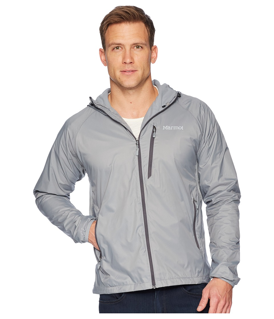Marmot - Ether DriClime(r) Hoodie (Grey Storm) Mens Clothing