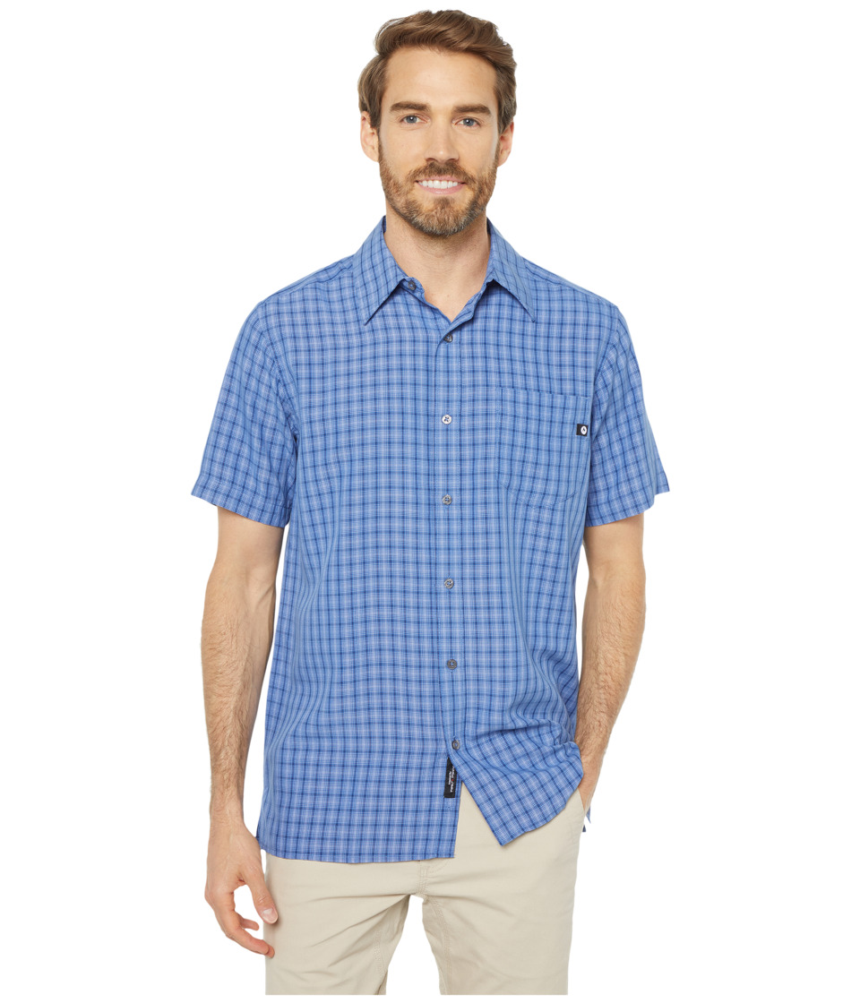 Marmot - Eldridge S/S (Varsity Blue) Mens Short Sleeve Button Up