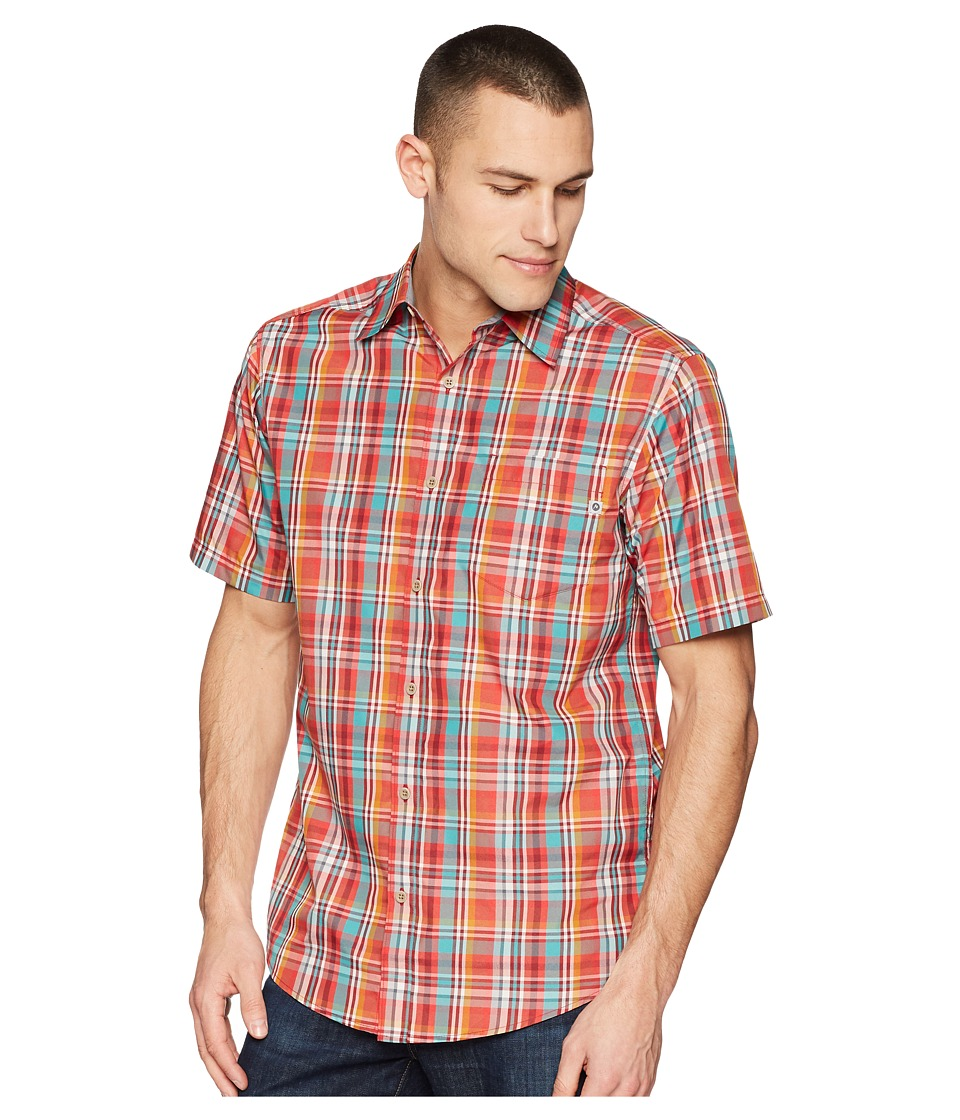 Marmot - Dobson S/S (Auburn) Mens Short Sleeve Button Up