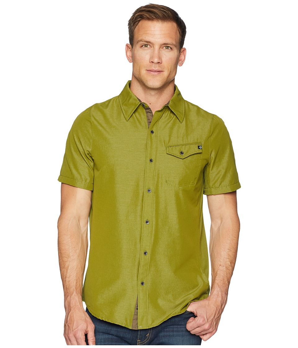 Marmot - Contra Short Sleeve (Military Green) Mens Clothing