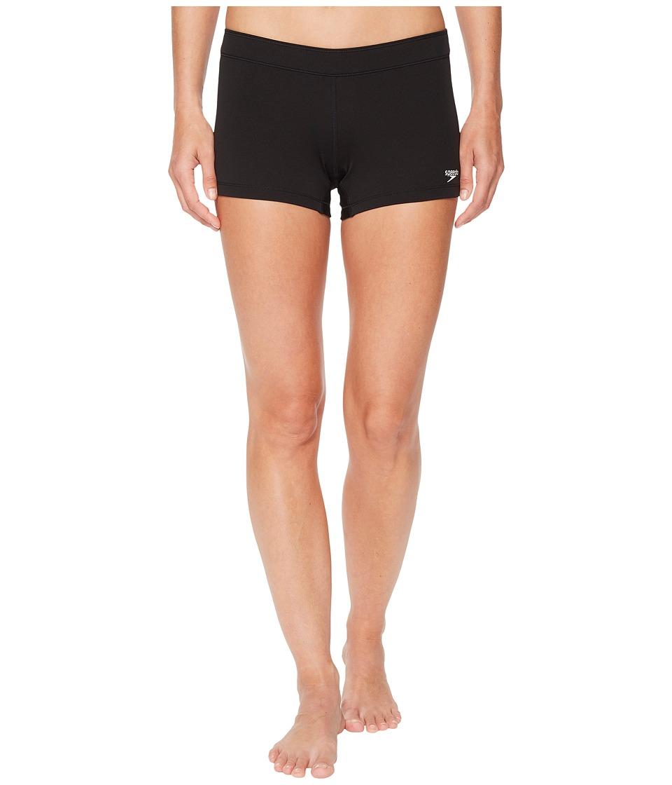 Speedo Solid Shorts (Speedo Black)