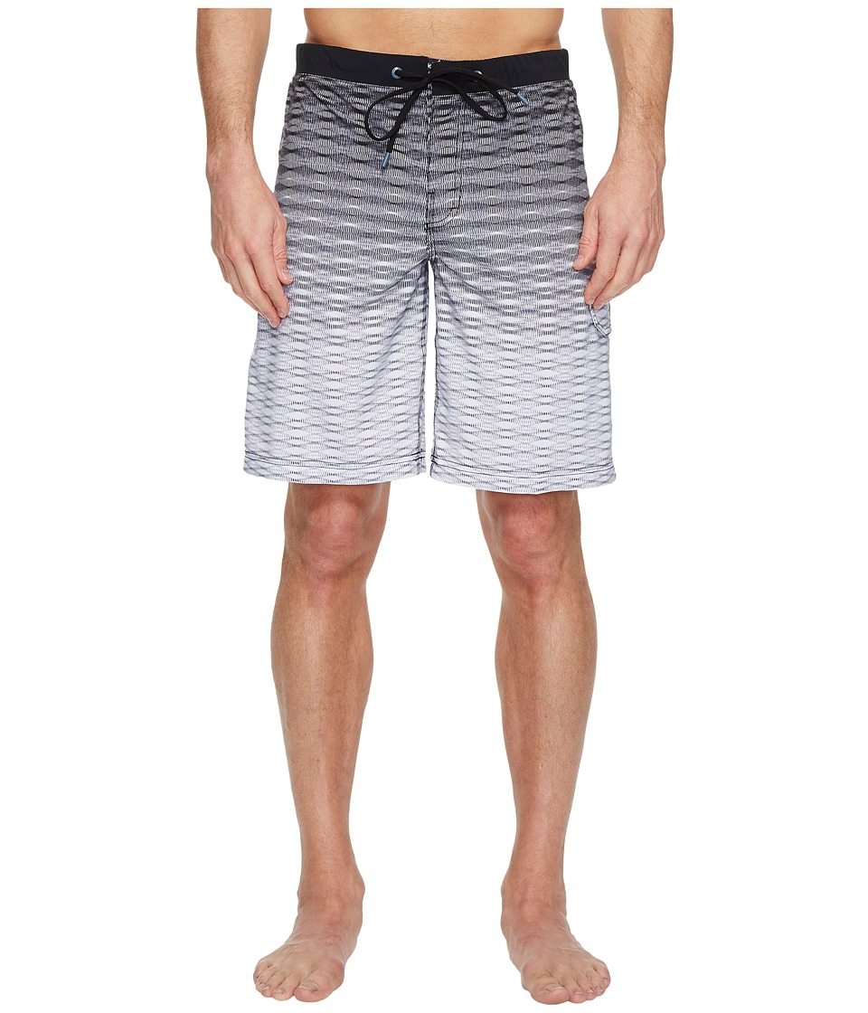 Speedo Static Blend Boardshorts (Speedo Black) Men