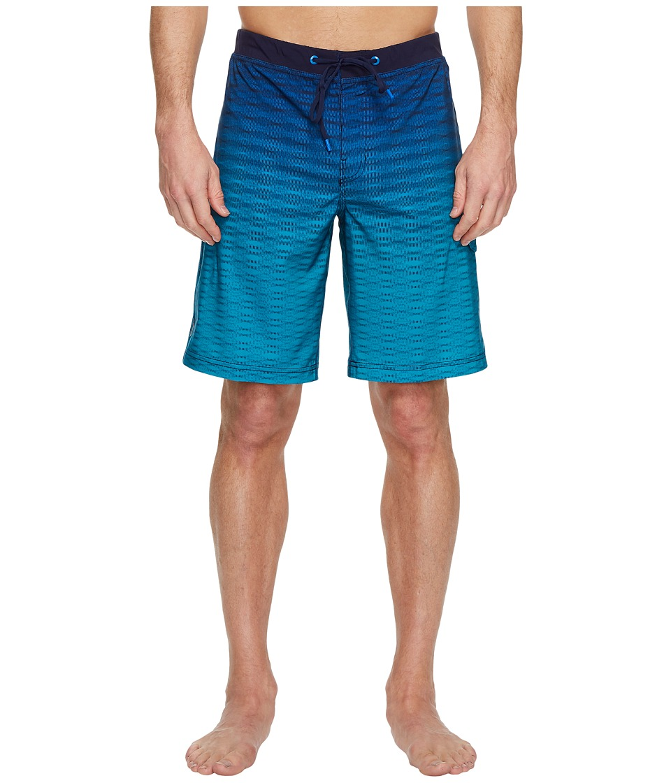 Speedo Static Blend Boardshorts (Classic Blue) Men