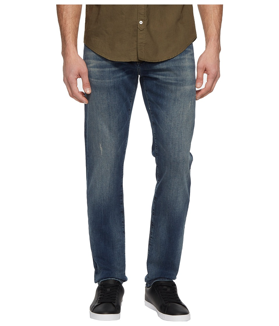 Mavi Jeans Jake Regular Rise Slim Jeans in Deep Used Williamsburg (Deep Used Williamsburg) Men