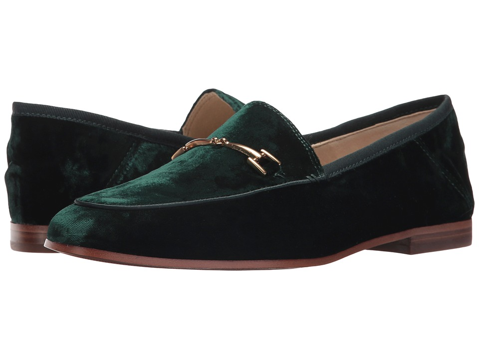 Sam Edelman - Loraine (Emerald Green Silky Velvet) Women's Dress Sandals