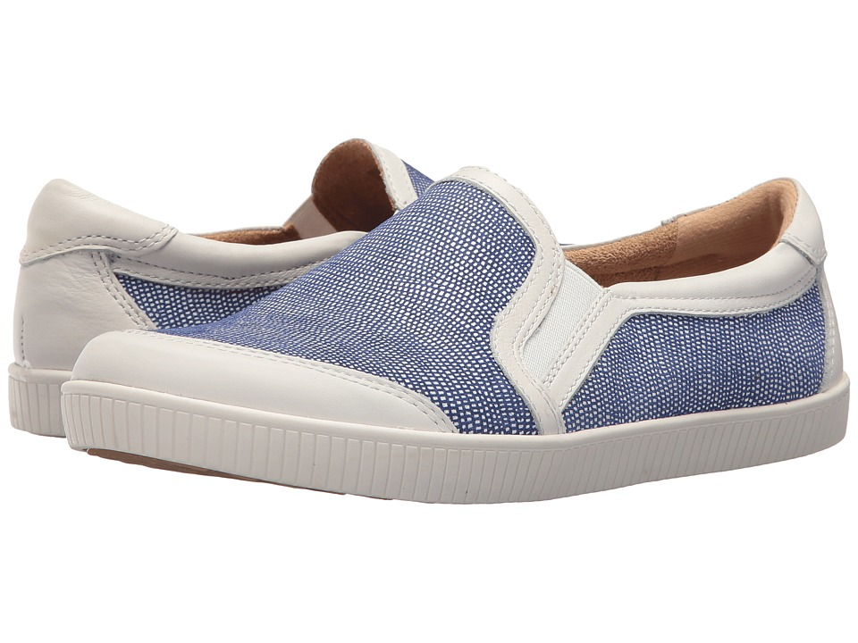 Earth Currant (Sapphire Blue Printed Wave Suede) Women