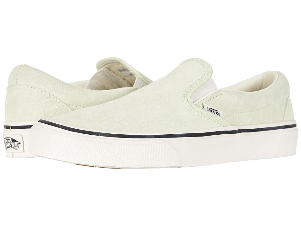 Vans Shoes Classic Slip On Suede Black True White