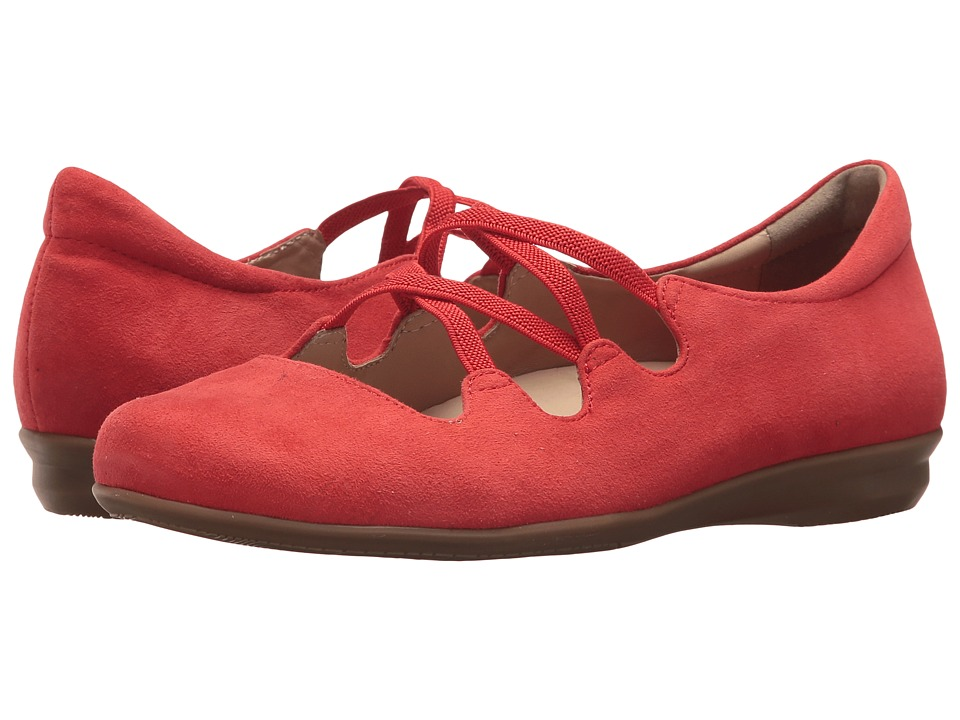 Earth Clare Earthies (Spicey Red Premium Suede) Women
