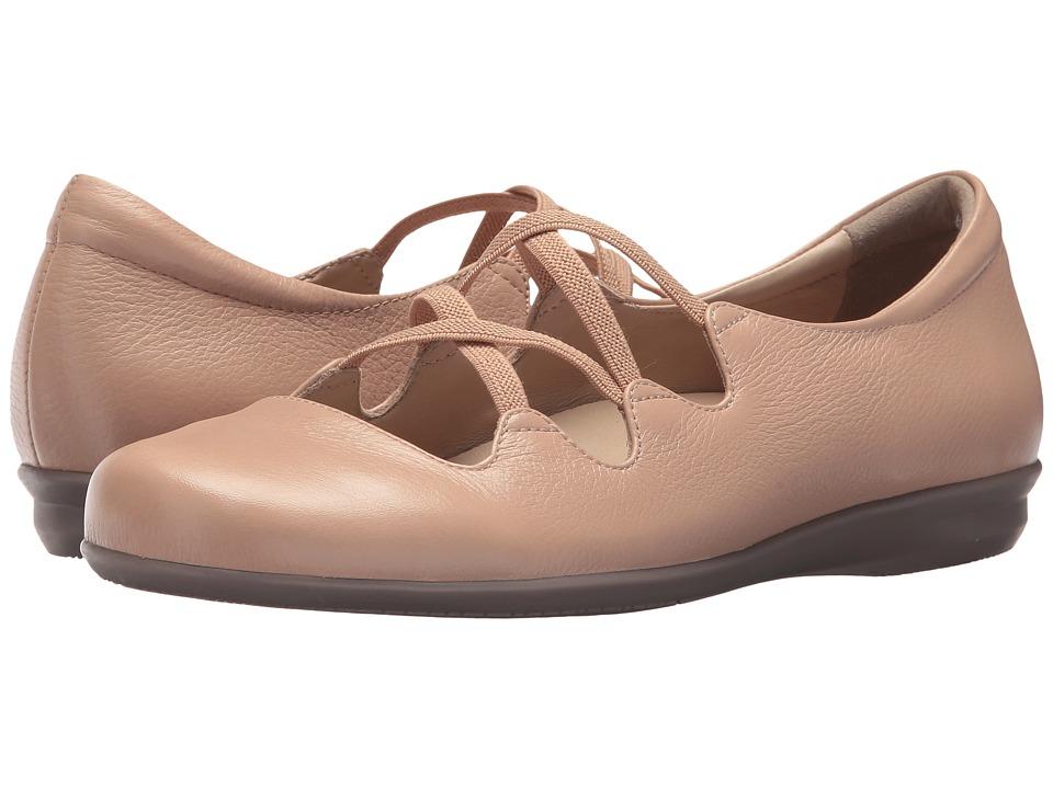 Earth Clare Earthies (Blush Premium Tumbled Leather) Women