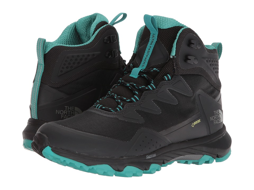 The North Face Ultra Fastpack III Mid GTX (TNF Black/Porcelain Green) Women's Shoes