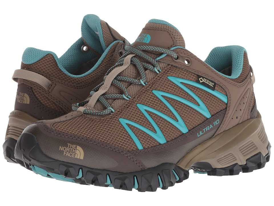 The North Face Ultra 110 GTX (Cub Brown/Bristol Blue) Women's Shoes