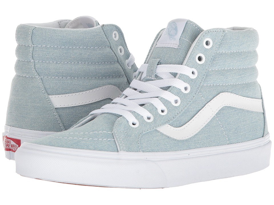 Vans SK8-Hi Reissue ((Denim) Baby Blue) Skate Shoes