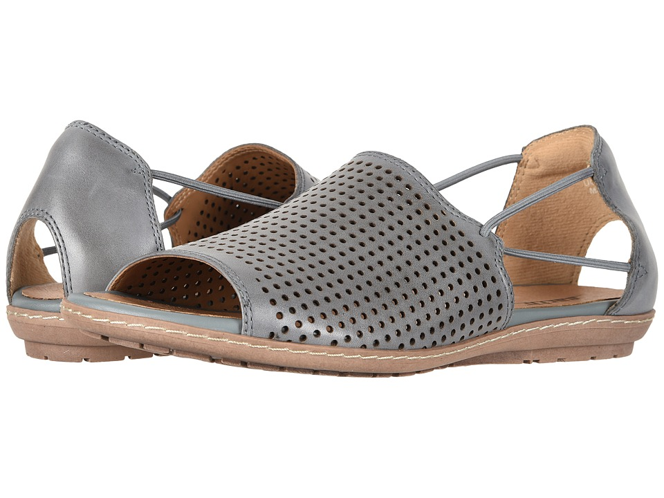 Earth Shelly (Light Blue Soft Burnished Leather) Women's Shoes