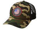Billabong Camo Native Rotor Trucker Hat