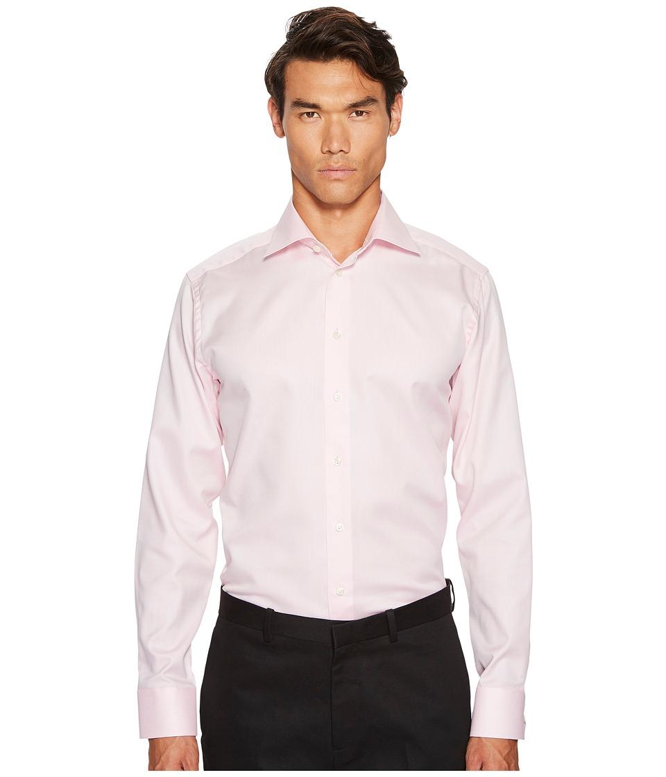 Eton - Slim Fit Mini Herringbone Shirt