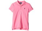 Polo Ralph Lauren Kids Short Sleeve Mesh Polo Shirt (Little Kids/Big Kids)