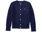 Polo Ralph Lauren Kids Cable Knit Cotton Cardigan (Toddler)