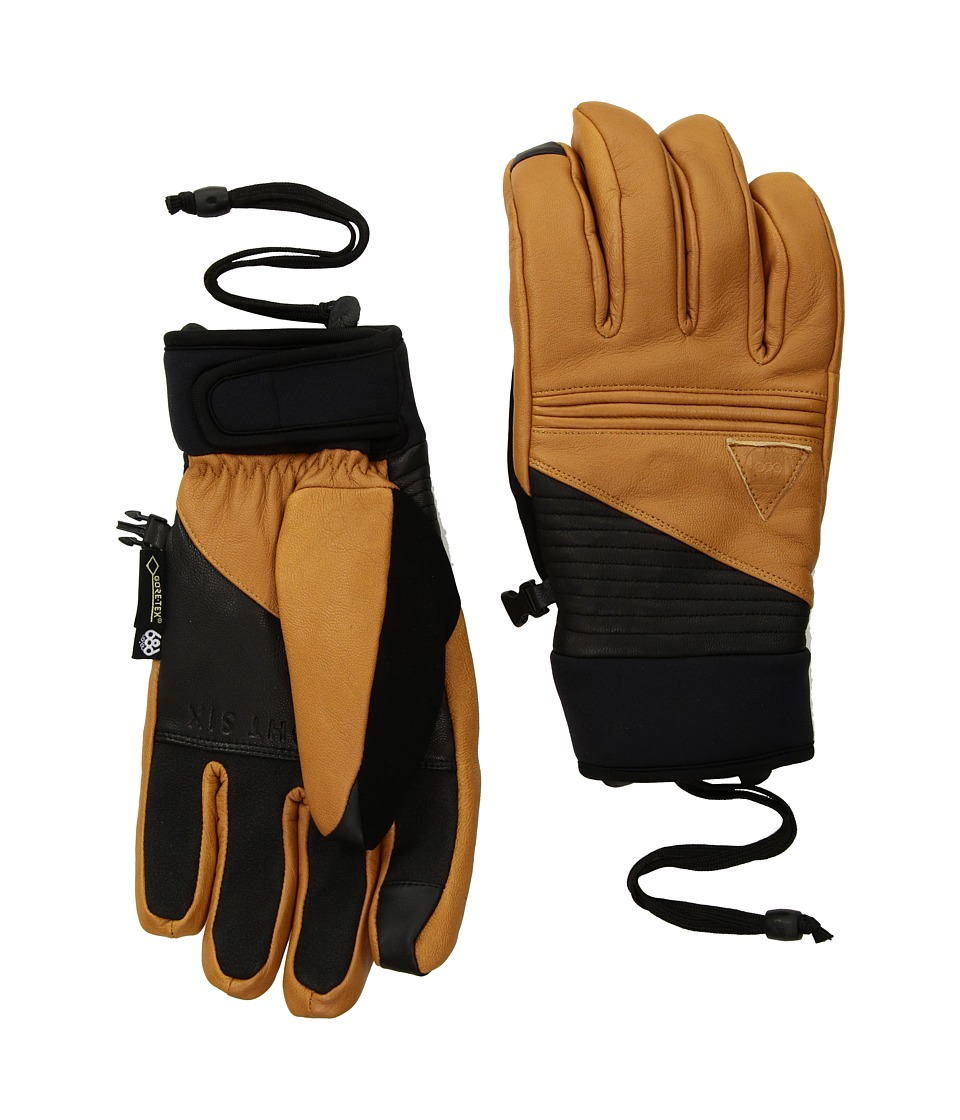 686 Gore-Tex Leather Gloves (Light Brown Leather) Gore-Tex Gloves