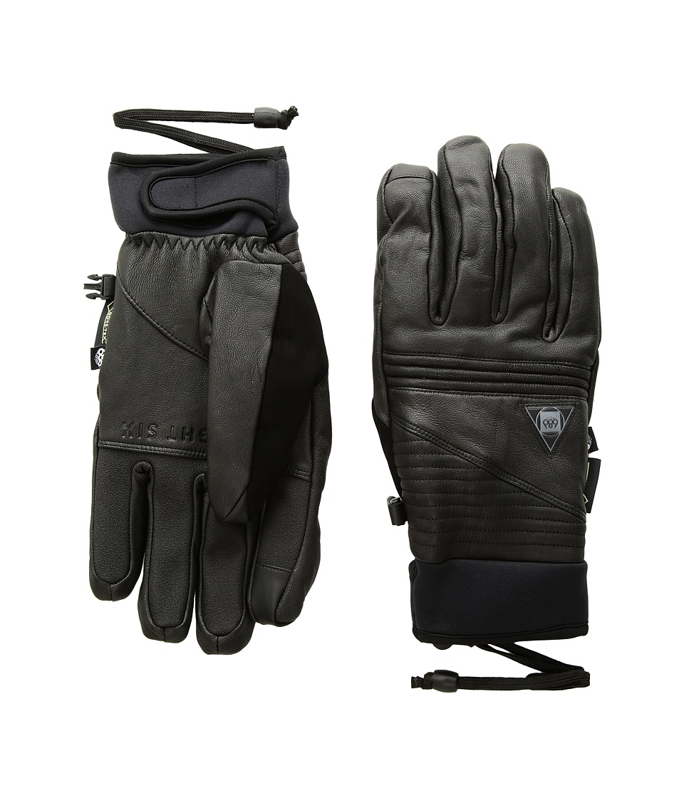 686 Gore-Tex Leather Gloves (Black Leather) Gore-Tex Gloves