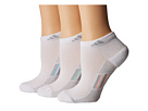 adidas Climacool(r) Superlite Stripe Low Cut Socks 3-Pack