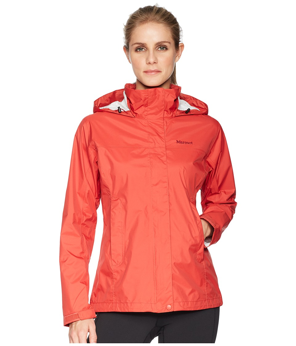 Marmot PreCip(r) Jacket (Desert Red) Women