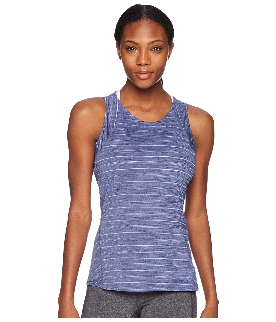 Marmot - Ellie Tank Top (Lilac) Womens Sleeveless