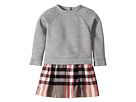 Burberry Kids Sweater Top Check Skirt Dress (Infant/Toddler)